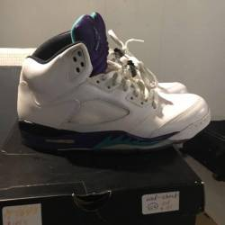 Air jordan retro 5 grapes