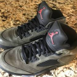 Air jordan retro 5 v fear pack...