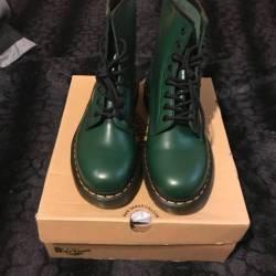 Dr martens green vert