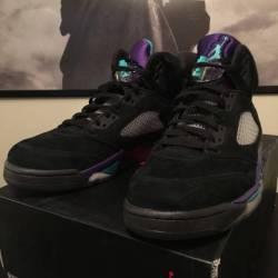 Air jordan 5 - black grape