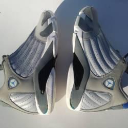Nike air jordan 14 retro wolf ...