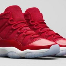"Air jordan 11 retro gym red ""w..."
