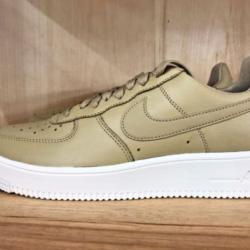 Nike air force 1 white tan mus...