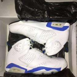 Air jordan 6 - sport blue