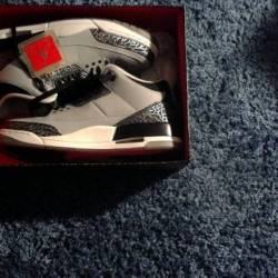 "Jordan 3 ""wolf grey"""