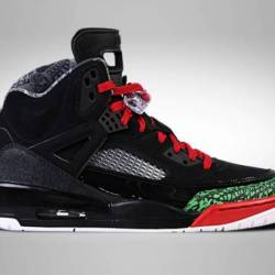 Air jordan spizike black red p...