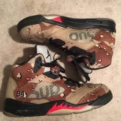 Air jordan 5 retro x supreme s...