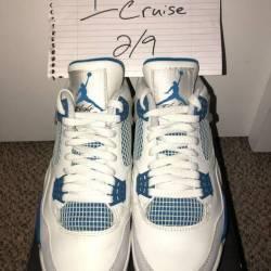Jordan 4 retro military blue 8.5