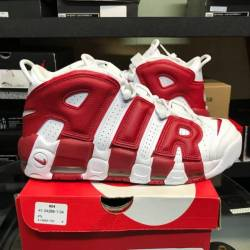 Nike air more uptempo gym red ...