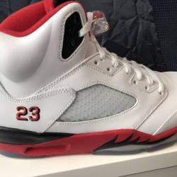 Air jordan 5 fire red (black t...