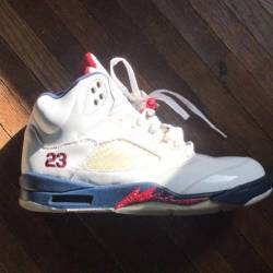 Air jordan 5 olympic 4th of ju...
