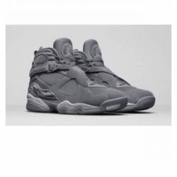 Jordan 8 retro cool grey w rec...