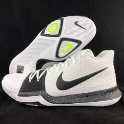 Nike kyrie 3 tb white black 91...