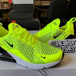 Nike air max 270 volt black da...