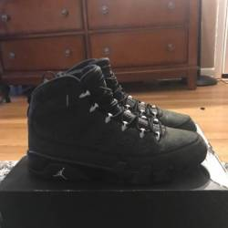 Air jordan 9 retro anthracite ...