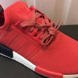 Adidas nmd r1 w vivid red navy...