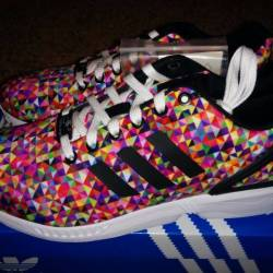 Adidas zx flux multi color pri...