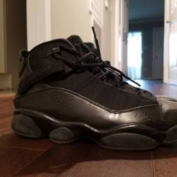Air jordan six rings black/dar...