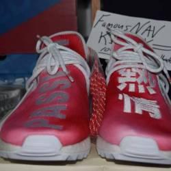Pharrell x adidas nmd hu holi red