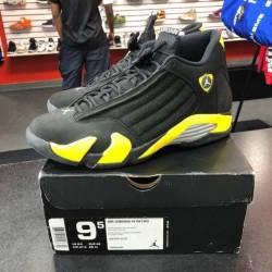 Jordan 14 - thunder - size 9.5