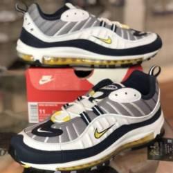 Nike air max 98 white tour yel...
