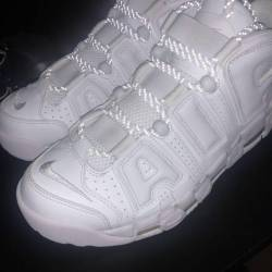 Nike air uptempo triple white