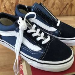 Vans kids old skool navy true ...