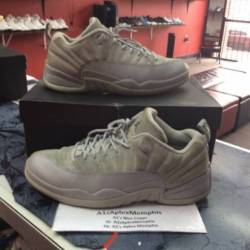 Air jordan 12 low wolf grey si...