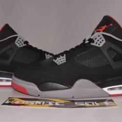 Nike air jordan 4 retro bred 2...