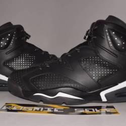 Nike air jordan 6 retro black ...