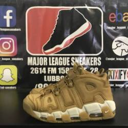 Nike air more uptempo flax siz...