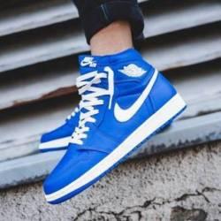 """Nike air jordan 1 """"hyper roy..."""