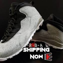 Ships now! air jordan 10 retro...