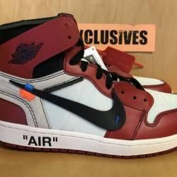 Nike air jordan 1 x off-white ...