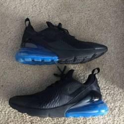 Size 10 nike air max 270 black...