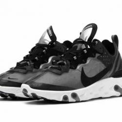 Nike react element 87 black an...
