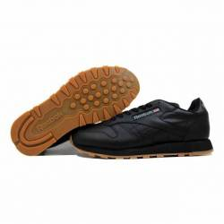 Reebok classic leather black/g...