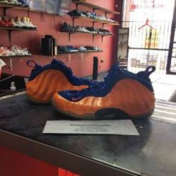 Nike air foamposite knicks 314...