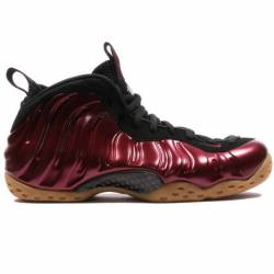 Nike air foamposite one maroon...