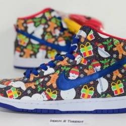 Nike dunk high sb qs ugly swea...