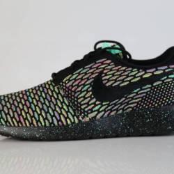 Nike id roshe run flyknit mult...