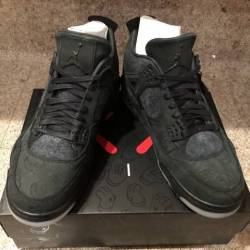 Air jordan 4 kaws black 12 nik...