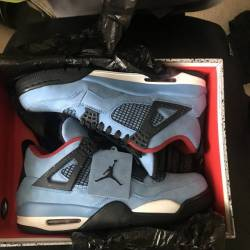 New 9.5 air jordan 4 travis ca...