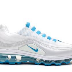 Nike air max 24-7 gs silver/wh...