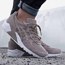 Asics gel sight sneakers taupe...