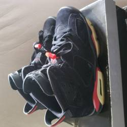 Air jordan vi 6 retro black va...