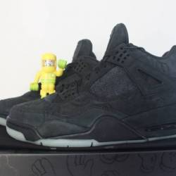 Air jordan 4 retro kaws black ...
