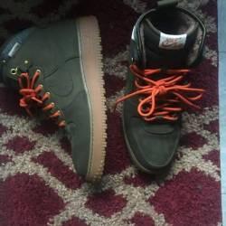 Nike air force 1 high green