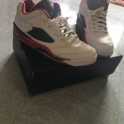 Air jordan 5 low - fire red
