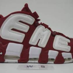 Air more uptempo supreme red s...